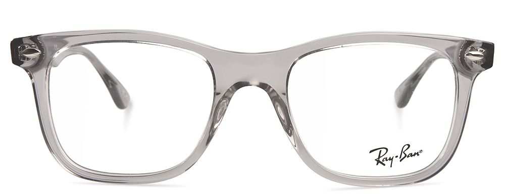 ray ban transparent frames