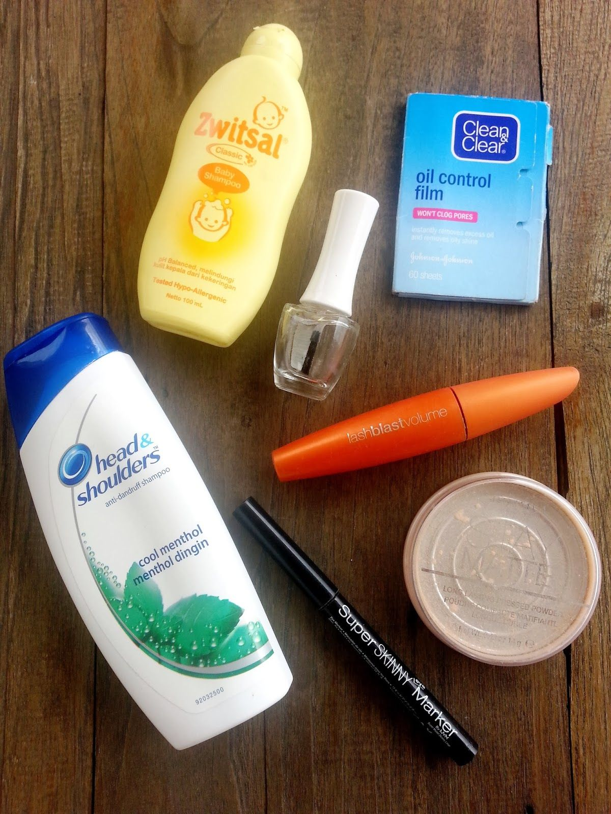 Products that i've used up till the last drop
