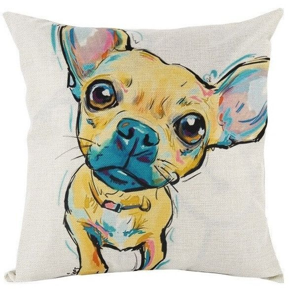 Lovely Dog Pattern Pillow Covers