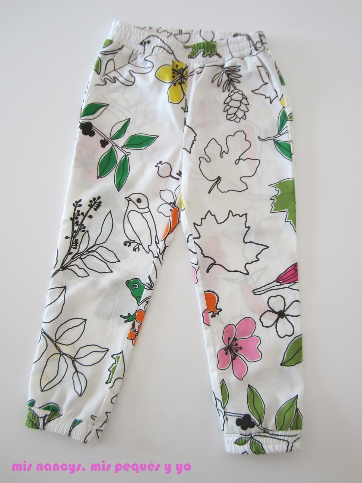 mis nancys, mis peques y yo, pantalón fluido para niñas, pantalón ...