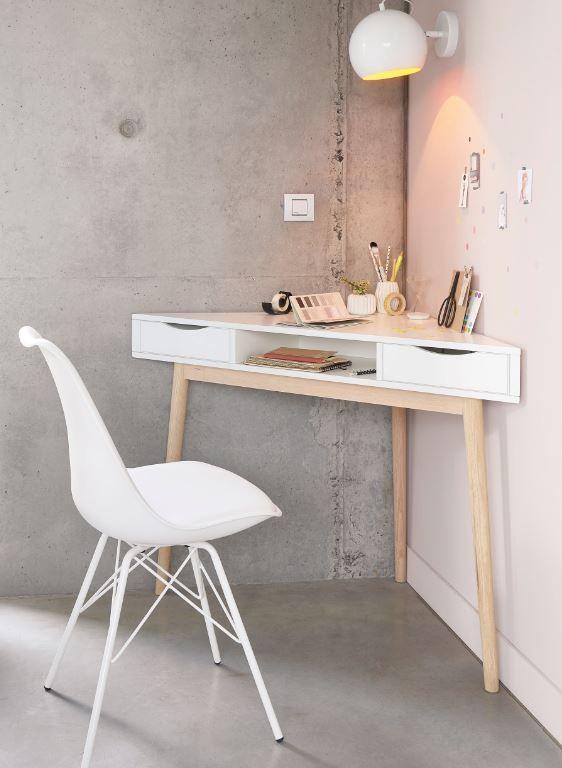 15 Space Saving Furniture Ideas White Desk Bedroom Desks For Small Spaces Home Desk