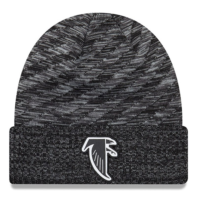 Atlanta Falcons New Era 2018 NFL Sideline Cold Weather Black TD Knit Hat –  Black 70ea9385fa4