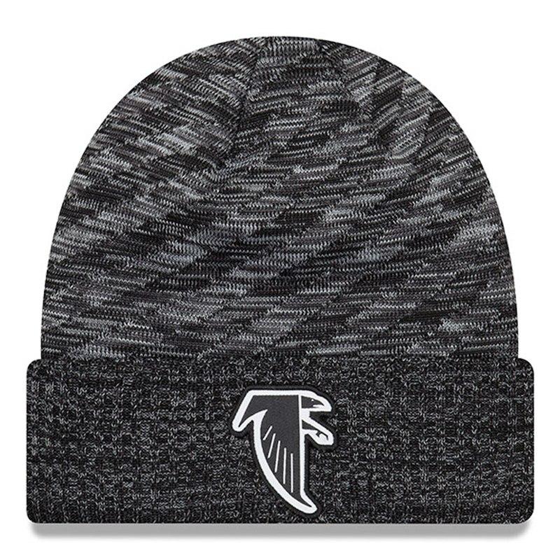 Atlanta Falcons New Era 2018 NFL Sideline Cold Weather Black TD Knit Hat –  Black b6bcce1438d