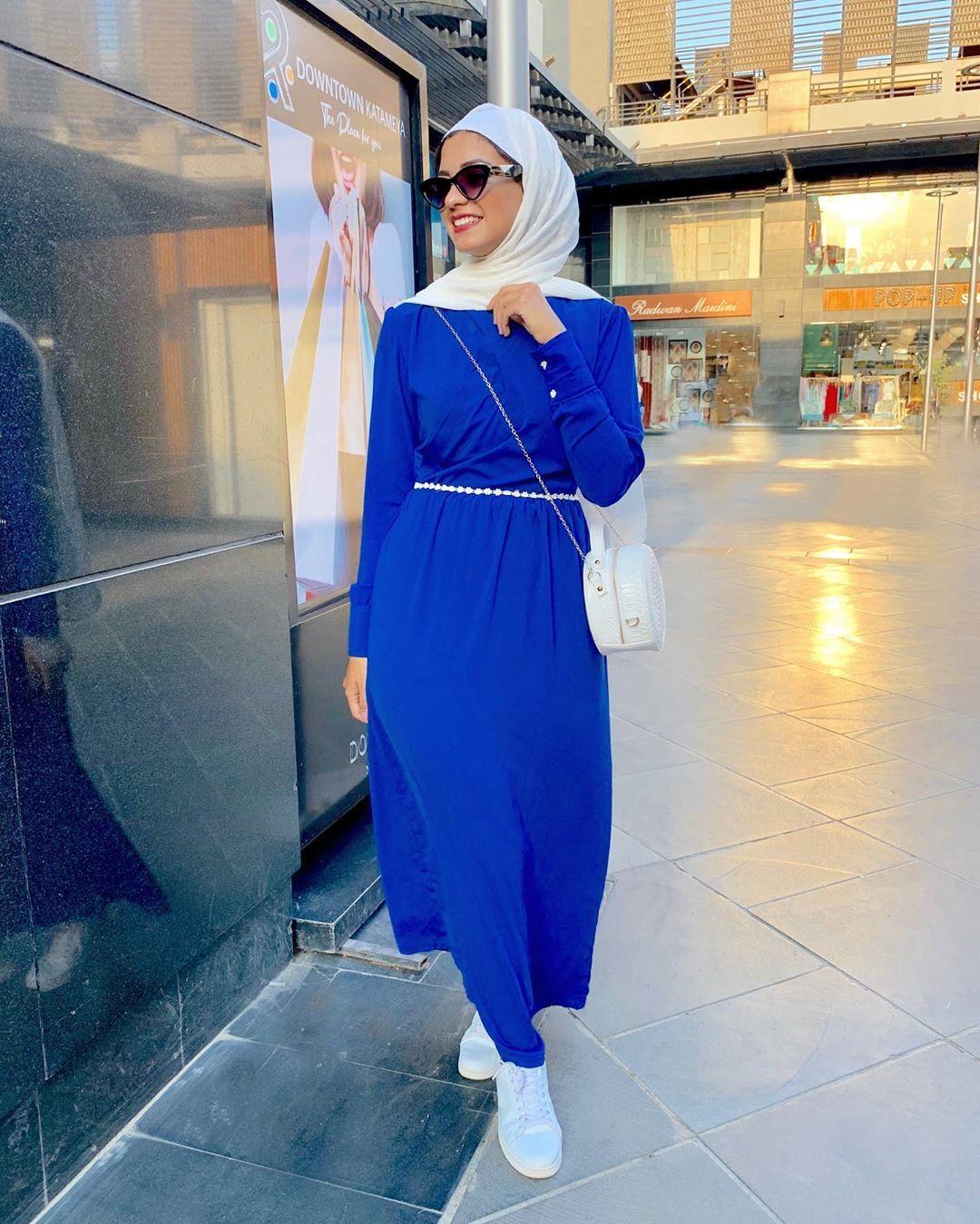نوران خليفة Di Instagram Learn To Live Without The Person You Can T Live Without Dress From Violleta Muslim Fashion Dress Hijab Fashion Fashion