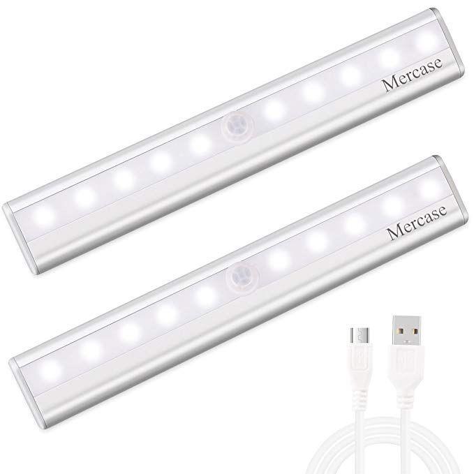 Luce Per La Notte.Luce Notte Led Con Sensore Ricaricabile Usb Luce Led Sensore