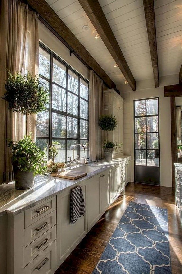 55+ Lovely French Country Style Kitchen Decor Ideas #countrykitchens