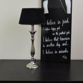 Tischleuchte ~ Cote Black