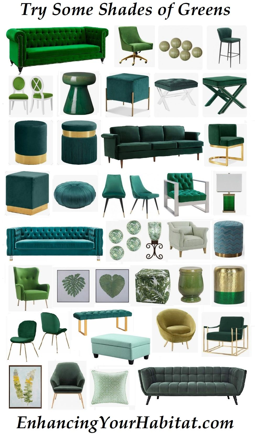 Green Furniture Home Accessories Green Sofa Green Velvet Green
