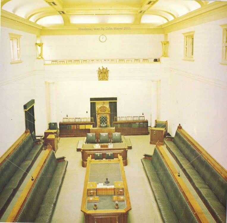 Rhodesian House Of Assembly Debating Chamber British History Architecture Building House of assembly zimbabwe