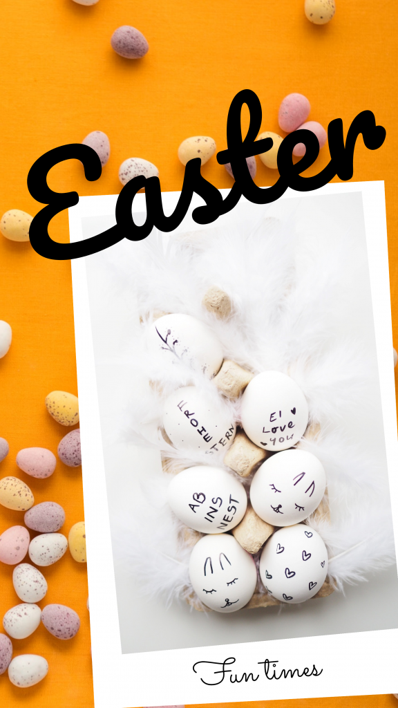 Easter Fun Times Instagram Story Template Instagram Story Template Easter Backdrops Instagram Story