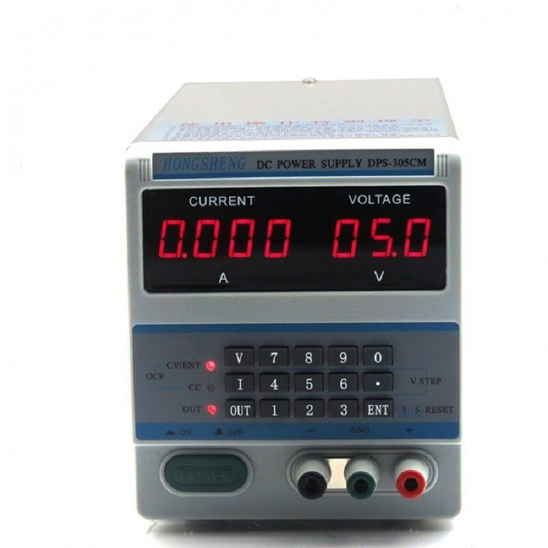 030V 05A 220V Digital Input Adjustable DC Power Supply For Laboratory School Production Line UTP1306S 110V220V Digital Adjustable DC Power Supply 032V 06A Regulated Labor...