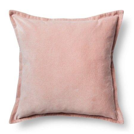 Velvet Throw Pillow Cover Target Pink Pillows Pink Throw Pillows Blush Pillows