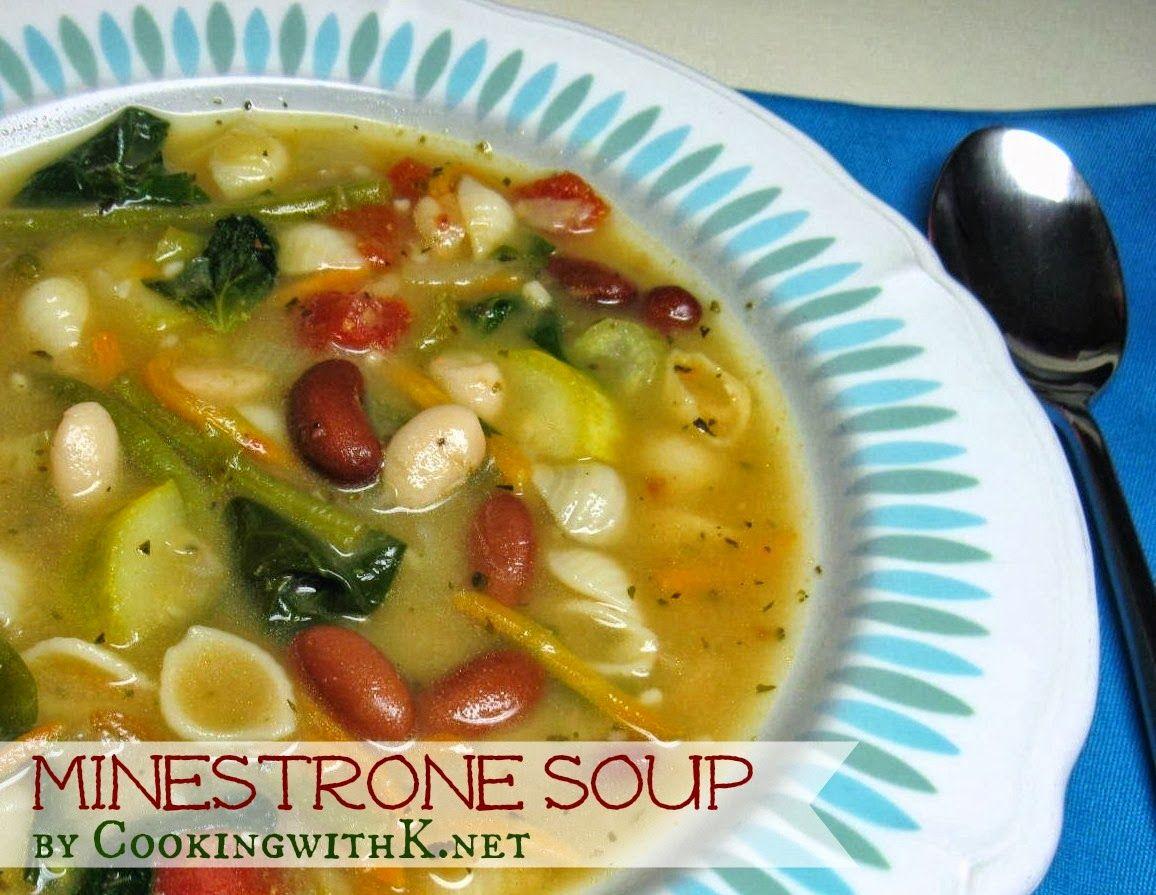 Minestrone Soup Olive Garden Copycat Olive Gardens