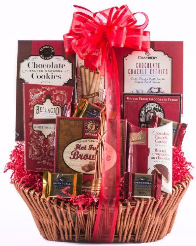 Gift Baskets - Pin it :-) Follow us, CLICK IMAGE TWICE for Pricing and Info . SEE A LARGER SELECTION of gift baskets at http://azgiftideas.com/product-category/gift-baskets/ - gift ideas , gift set - Wine.com Say It With Chocolate Gift Basket