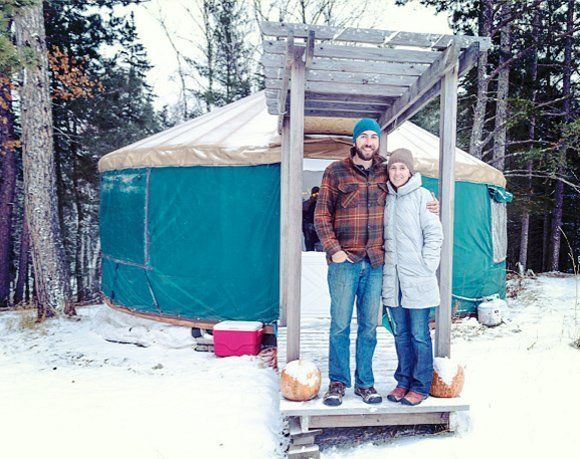 The Truth about Long-Term Yurt Living (with link to full story and more photos on Minnesota Public Radio's site)