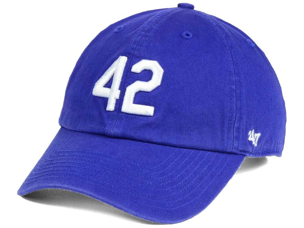best website e055c a1f8e Brooklyn Dodgers Jackie Robinson CLEAN UP Cap | Products I ...