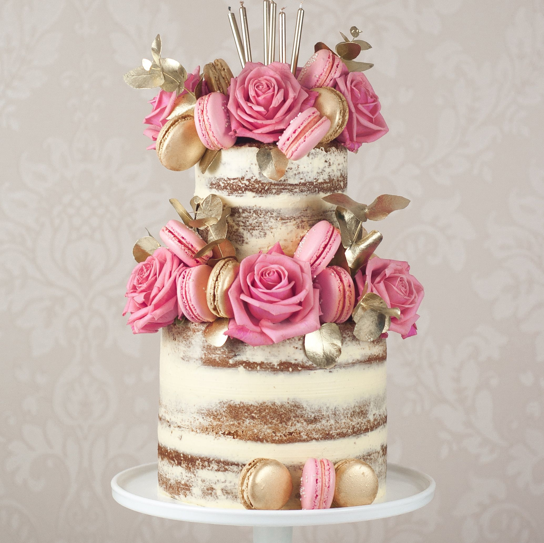 A Huge 2016 Wedding Trend Was The Rise Of Naked Cake Which Took Rustic Weddings By Storm Here At Hitched Were Predicting That Semi