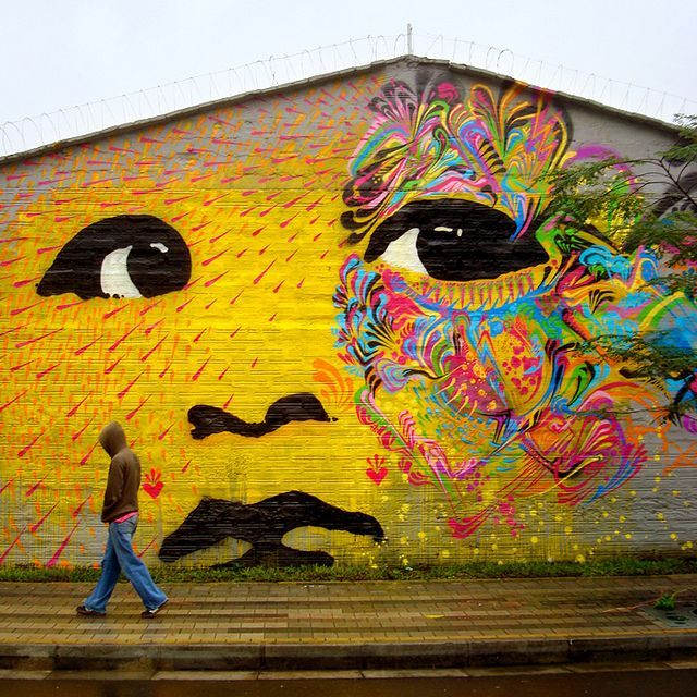 Street Art in Bogota, Colombia I love street art and wall murals ...