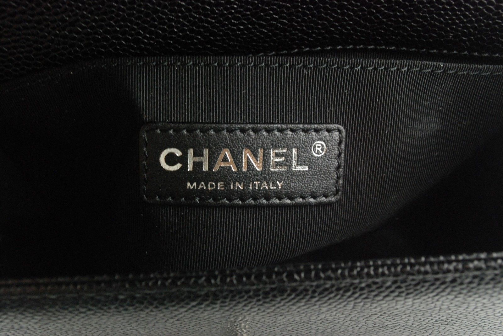 847799b5be74 Chanel Le Boy CAVIAR Leather Small Size Black Color Flap Bag 2014 Fall  (14B) Collection
