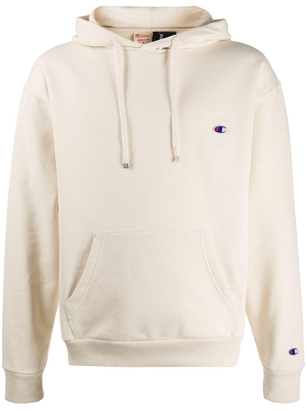Predownload: Champion X Clothsurgeon Logo Hoodie Farfetch Hoodies Sport Outfit Men Mens Casual Outfits [ 1334 x 1000 Pixel ]