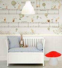 little hands: Little Hands Wallpaper Mural - Minuet in G Major II