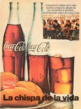 Publicidad Coca Cola Siente El Sabor Pin En Diseno