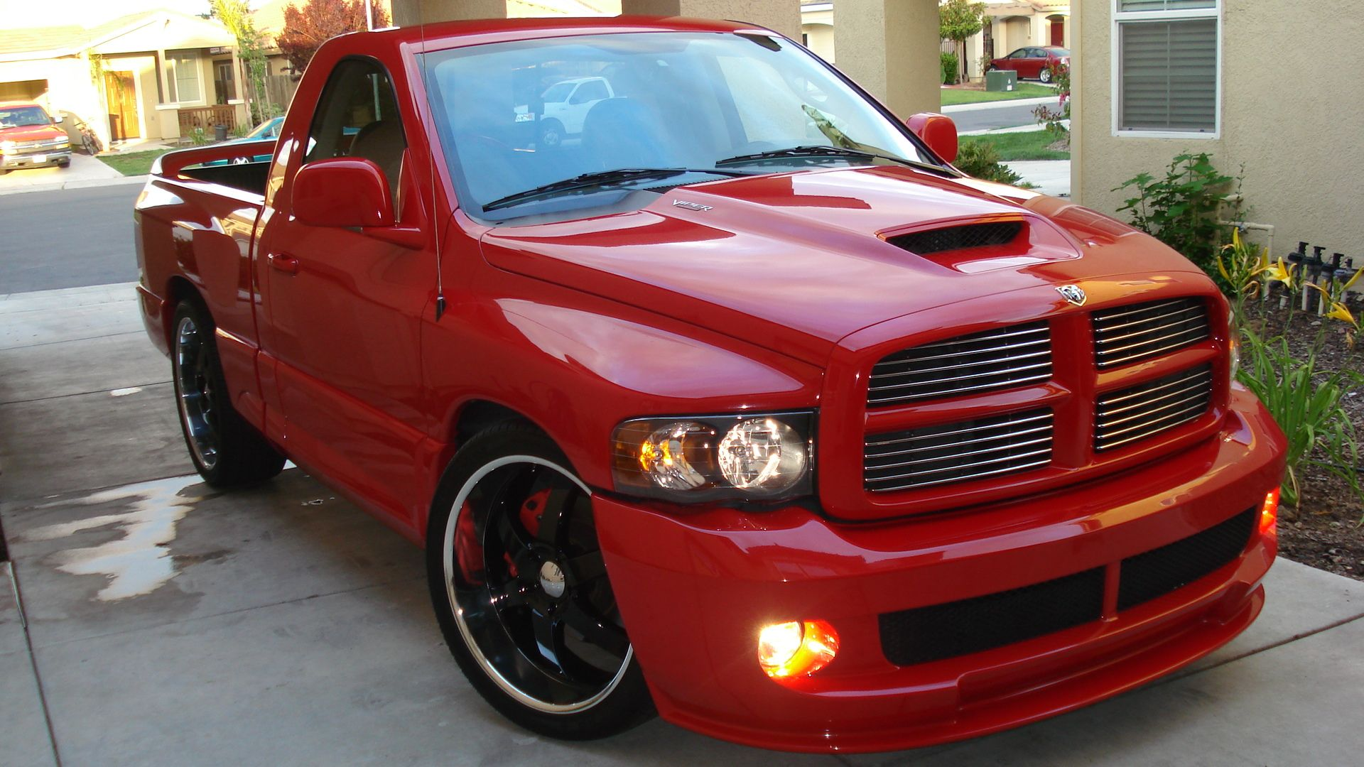 Bad ass here is the bad ass srt dodge ram srt