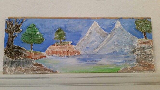 As minhas pinturas. Texturas