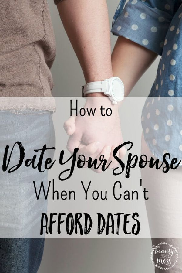 cant afford dating