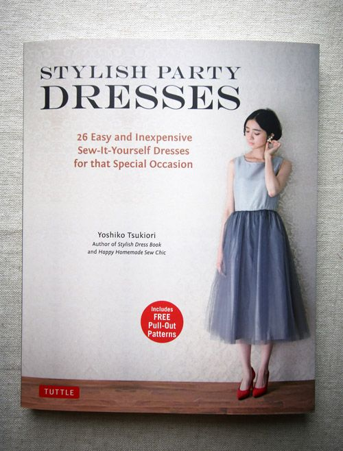 Book Review – Stylish Party Dresses (Now in English) | Japanese ...