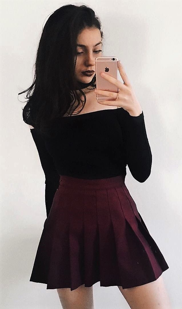 23 Cool Dark Grunge Outfit Ideas  Fashion, Girly Outfits