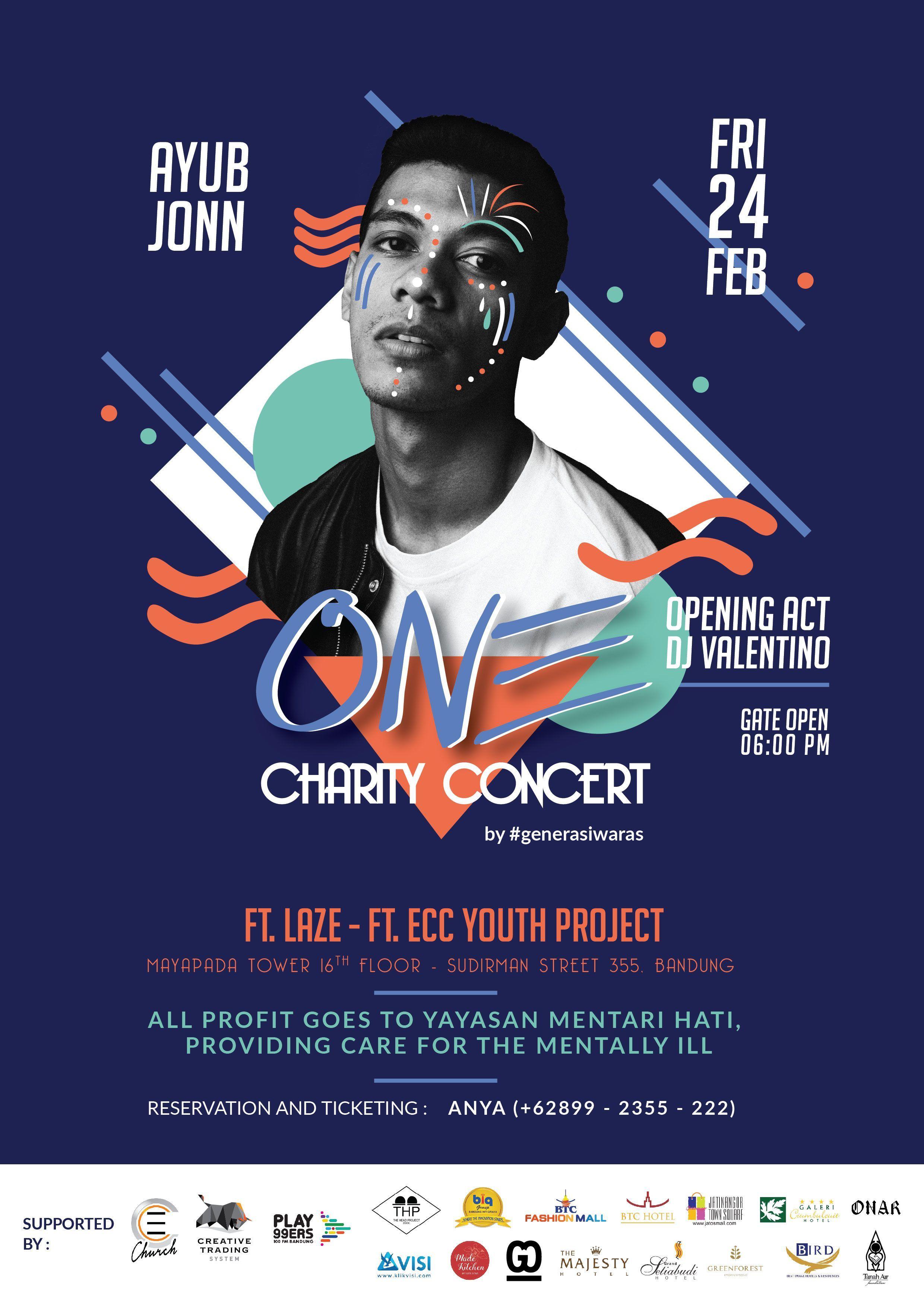 One Charity Concert Ayub Jonn Ft Laze Event Poster Design Layout Concert Poster Design Event Poster Design Event Poster Design Layout