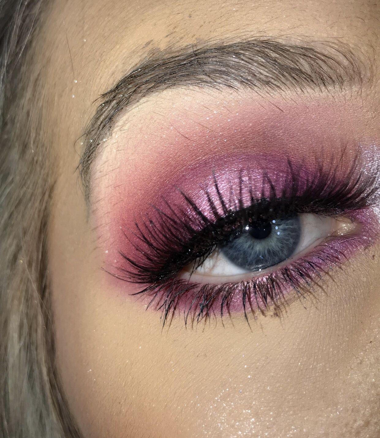 Blood sugar palette look Aesthetic makeup, Pink