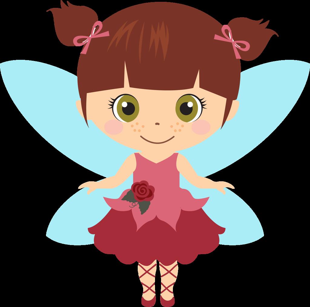 Fairy Munequitas Cutes #2 Clip Art