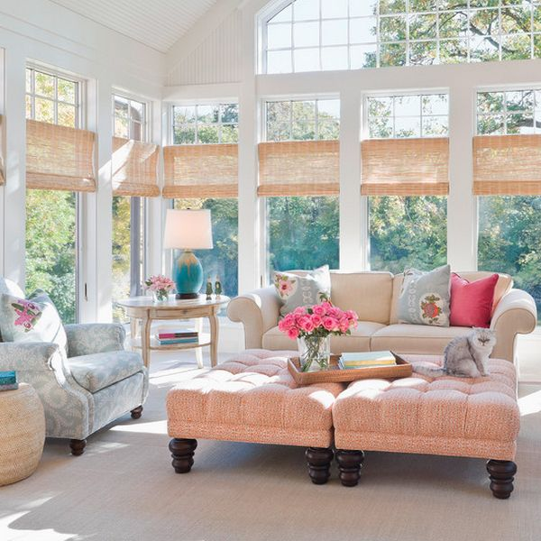 5 Service Sites For Do It Yourself Home Decor Houzz Sunroom And Living Rooms