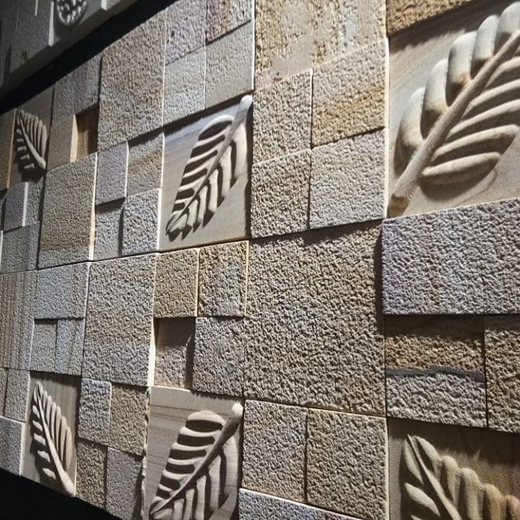 Natural Stone Cladding For Interior Or Exterior Wall Delhi Banglore Gurgaon Noida Architect With Images Natural Stone Cladding Exterior Wall Cladding Exterior Wall Design