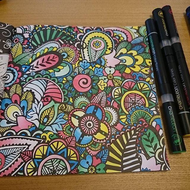 Chameleonpens Chameleon Color Coloring Books Coloring Pages
