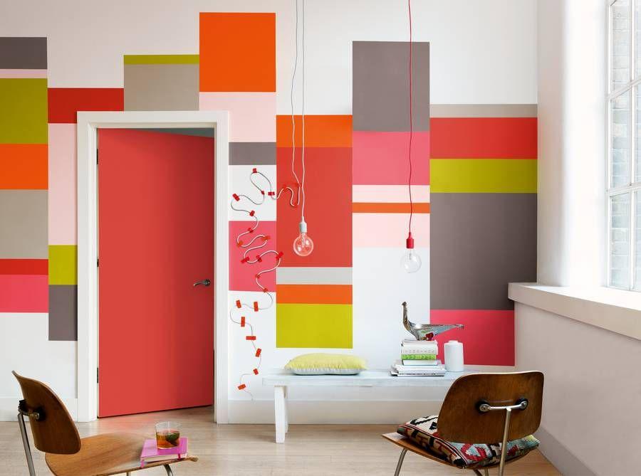 Dulux Geometrie, Wandgestaltung Im Trend