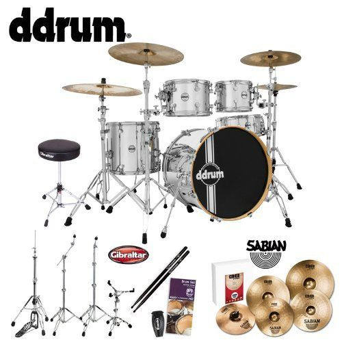 Stage Rocker 5pc drum set with double-braced hardware Cymbals ...