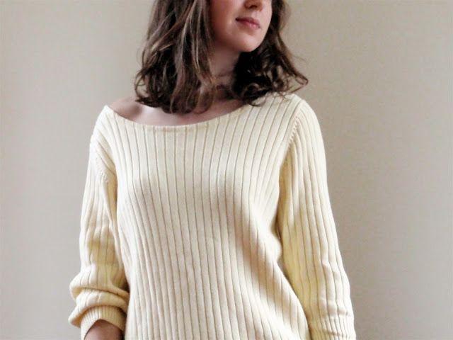 4e984ba4d7e Turtleneck sweater refashion