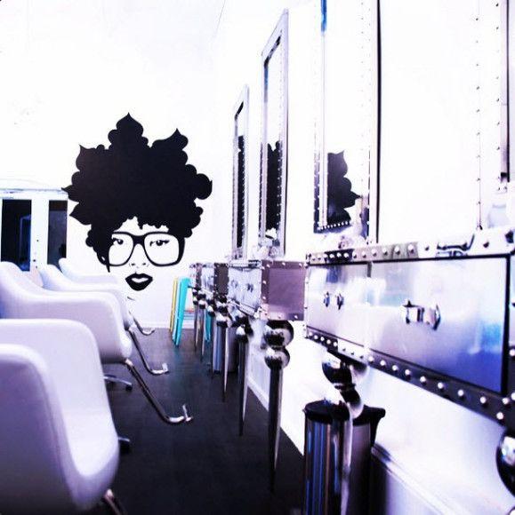 The Doux Salon Blow Dry Parlour Ga Curls Understood Natural Hair Salons Salons Natural Hair Styles