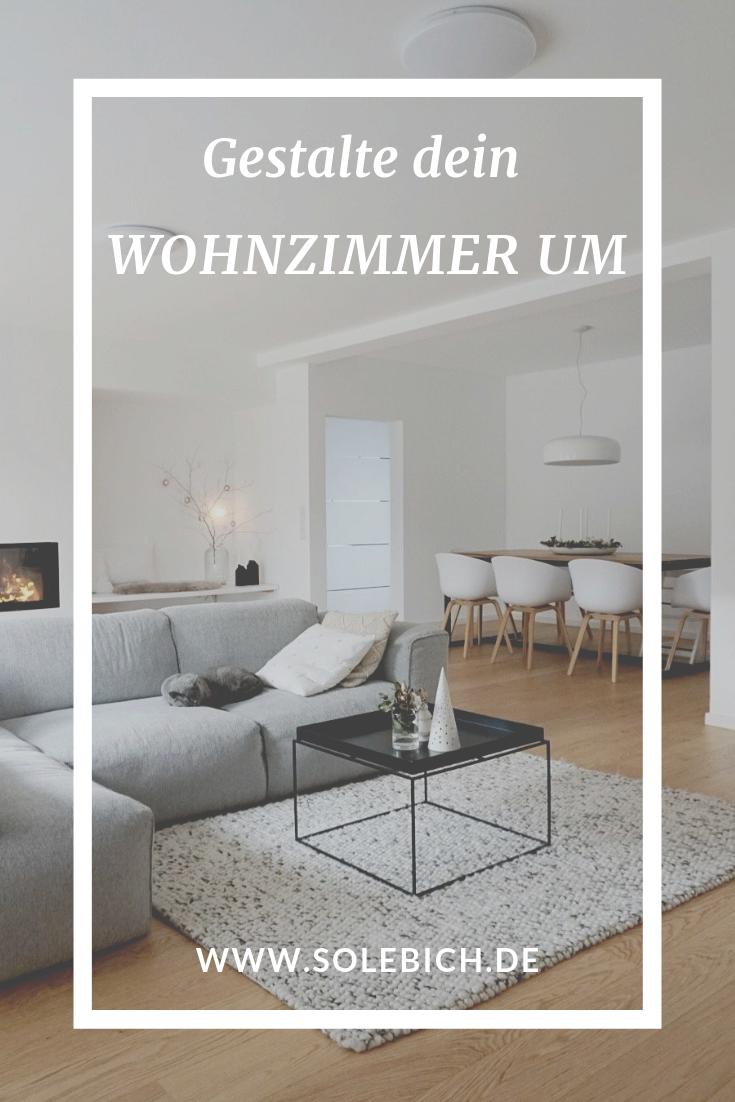 Gestalte dein Wohnzimmer um, mit den Gestaltungsideen auf SoLebIch.de Foto: Nordiccalm28 #solebich #wohnzimmer #gestaltung #interior #sofa #smalllivingroomdecor
