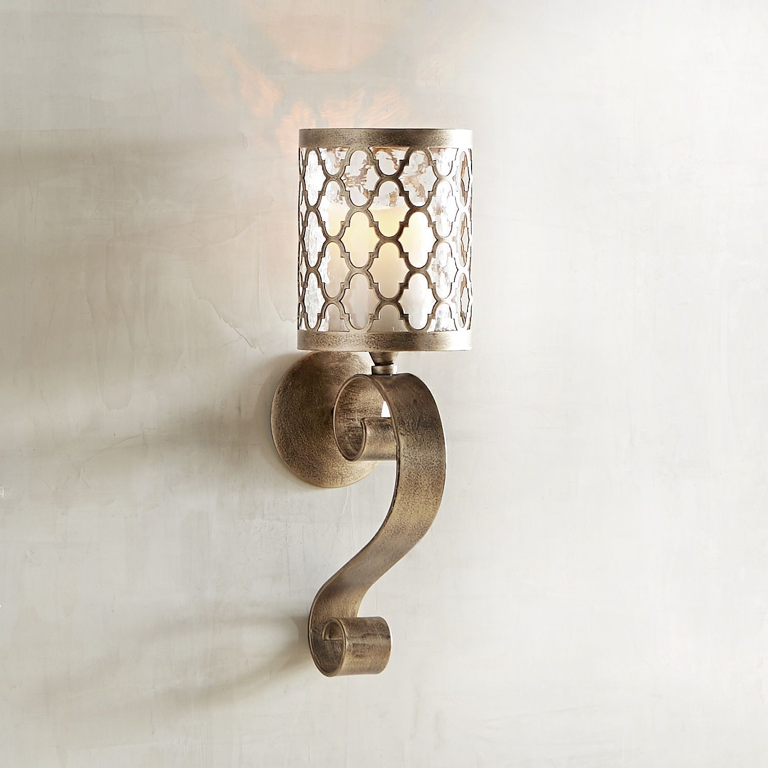 candle p wall uttermost metal falconara holders sconce sconces holder