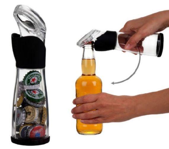 Recicle bottle opener