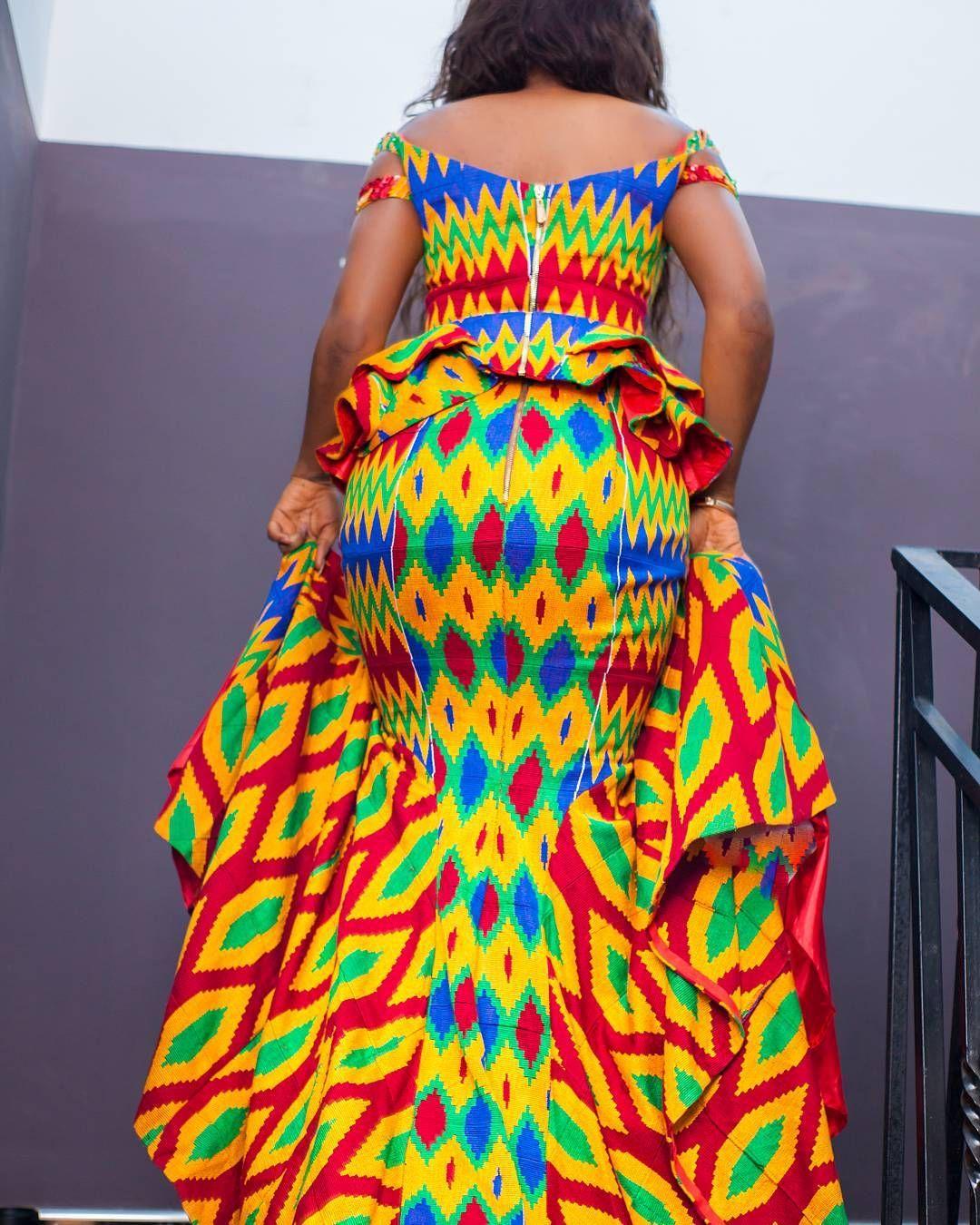 ~African Fashion, Ankara, Kitenge, African Women Dresses