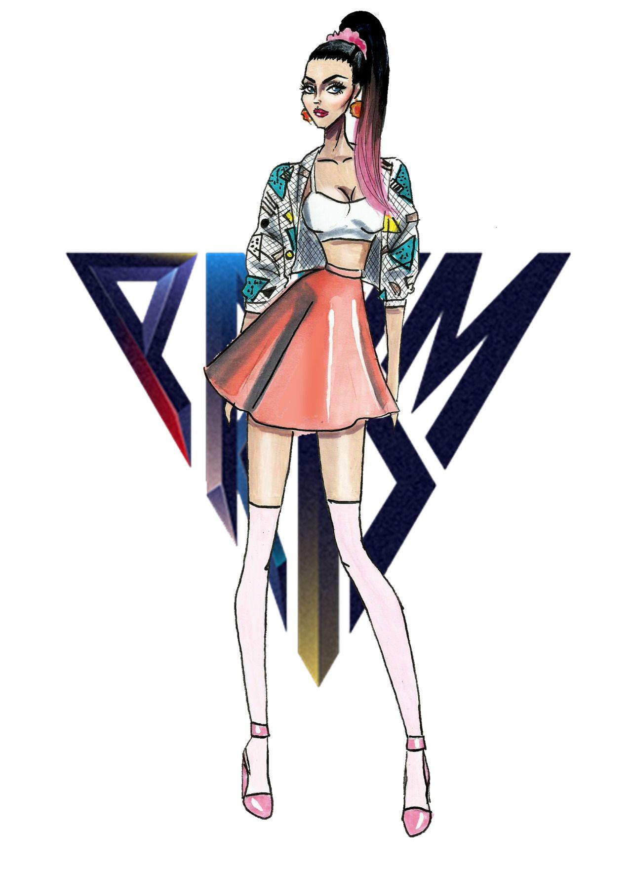 The Katy Perry Eras - Prism - by Armand Mehidri | Dibujos ...