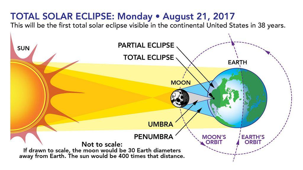 Total Solar Eclipse Graphic Solar Eclipse Solar Eclipse 2017 Partial Eclipse