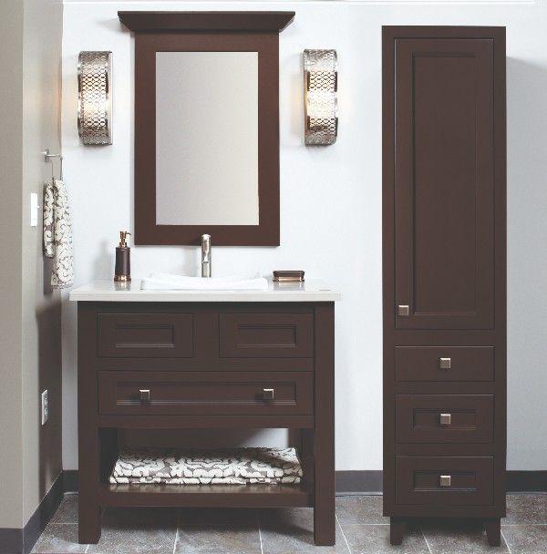 Builders Surplus offers Custom Wellborn bathroom vanities ...