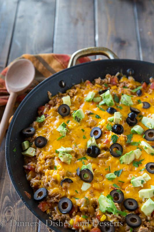 This mexican rice skillet is a one pot meal youll make again and food this mexican rice skillet is a one pot meal forumfinder Image collections