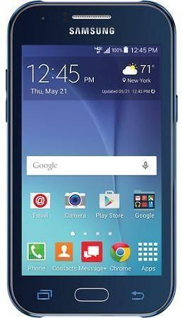 Verizon Samsung Galaxy J1 Prepaid Smartphone, Blue